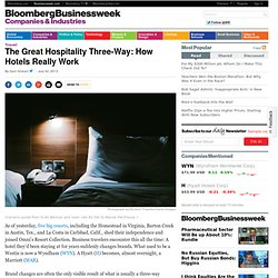 The Great Hospitality Three-Way: How Hotels Really Work