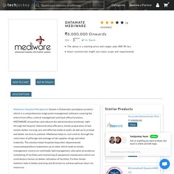 Datamate mediware hospitality management software solutions