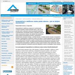Hospodaření s dešťovou vodou podle zákona - jak se dotýká stavebníků? - GLYNWED s.r.o.