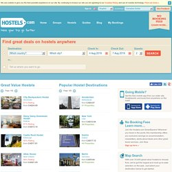 Every Hostel Everywhere - Youth Hostels &amp_amp_ Independent Hostels