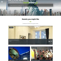 Hostels, Youth Hostels & Cheap Hotels at HostelBookers