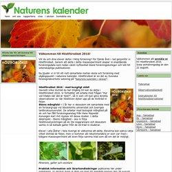 Höstförsöket - www.naturenskalender.se - Följ naturens kalender i skolan