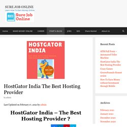 HostGator India - Buy Now The Best Hosting with Free Domain & Discount