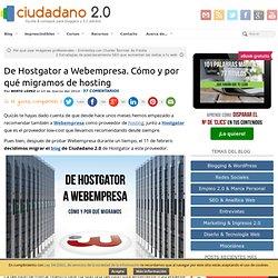 De Hostgator a Webempresa. Cómo y por qué migramos de hosting