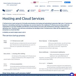 Hosting and Cloud Services