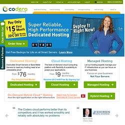 Dedicated Hosting with Backup & Managed Services from Codero