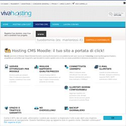 Hosting e-Learning moodle