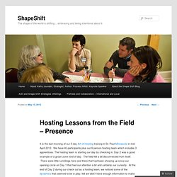 Hosting Lessons from the Field – Presence « ShapeShift