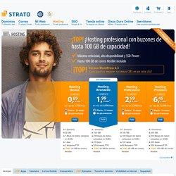 Hosting para principiantes y expertos desde 0,89€ en STRATO