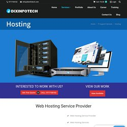 Best Web Hosting Services 2021