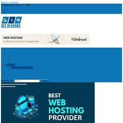 """Best Web Hosting Providers of 2020 with """"Comparison"""" and """"Offers"""""""