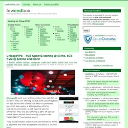 Low End Box - Cheap VPS Hosting Providers Listing & Reviews