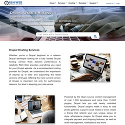 Drupal Web Hosting Services Domain Included