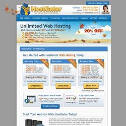 Web Hosting - Shared cPanel Web Hosting