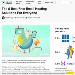 The 5 Best Free Email Hosting Solutions For Everyone (2020)