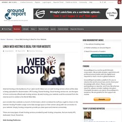 Choose Linux for ideal web hosting