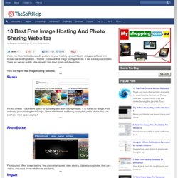 10 Best Free Image Hosting And Photo Sharing Websites