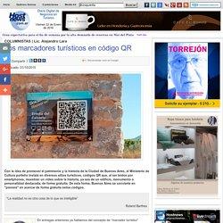 Hostnews Noticias de Turismo - Los marcadores turísticos en código QR
