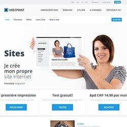 Avec Sites le design Web est un vrai plaisir