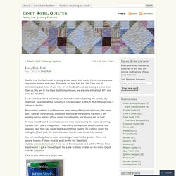 Cindy Roth, Quilter
