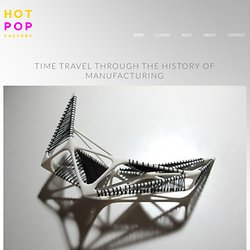 Hot Pop Factory – 3D Printed Jewelry