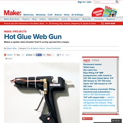 Hot Glue Web Gun