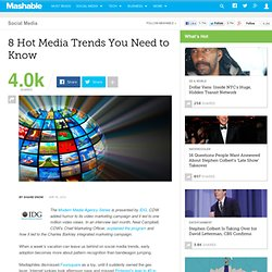 8 Hot Media Trends You Need to Know