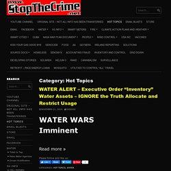 Hot Topics – StopTheCrime