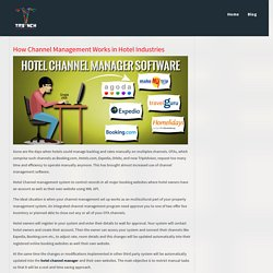 How Channel Management Works in Hotel Industries