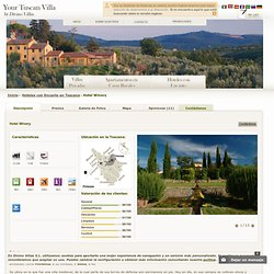 Hotel en Chianti