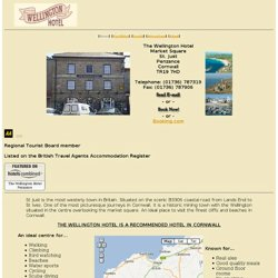 The Wellington Hotel, Cornwall