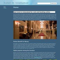 hotel in islamabad