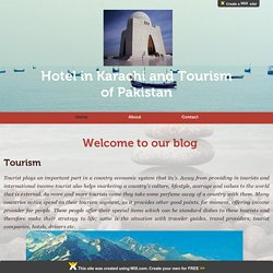 Hotel in Karachi and Tourism of Pakistan