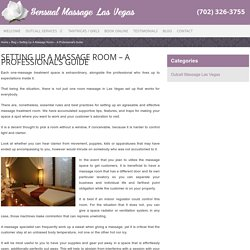 How to Set Up Room for Massage in Hotel?