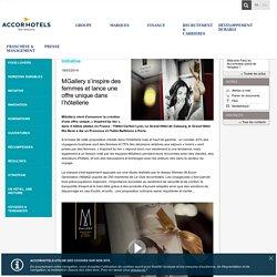 MGallery s'inspire des femmes et lance une offre unique dans l'hôtellerie - Actualités - AccorHotels
