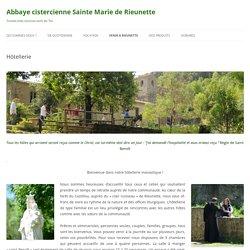 Abbaye cistercienne Sainte Marie de Rieunette