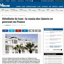 Des Qataris s'offrent quatre grand hôtels français