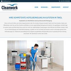 Unterhaltsreinigung von CLEANWORK aus Kufstein