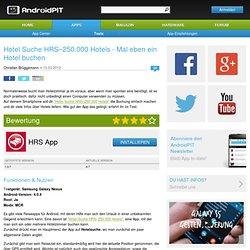 Hotel Suche HRS–250.000 Hotels - Mal eben ein Hotel buchen - Android Apps im Test