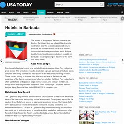 Hotels in Barbuda