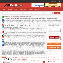 Dubai Hotels: Compare Cheap Dubai Accommodation Deals