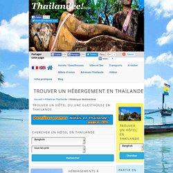 Hôtels et guesthouses en Thaïlande