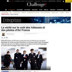 La vérité sur le coût des hôtesses et des pilotes d'Air France