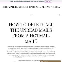 Hotmail Customer care Number Australia