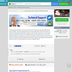 Hotmail Support Phone Number UK 0800-878-6004