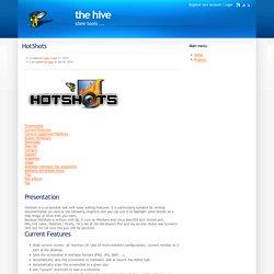 HotShots : guide utilisateur