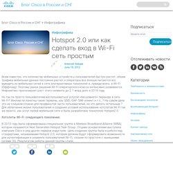 Hotspot 2.0 или как сделать вход в Wi-Fi сеть простым