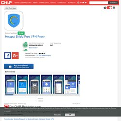 Hotspot Shield Free VPN Proxy