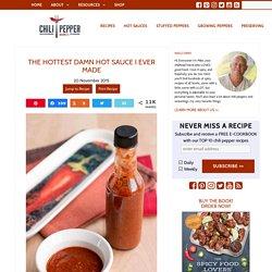 The Hottest Damn Hot Sauce I Ever Made Recipe