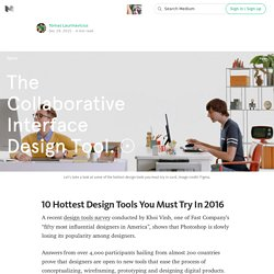10 Hottest Design Tools You Must Try In 2016 — The Digital Age